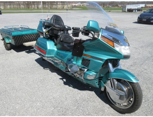 1994 Honda Goldwing and trailer