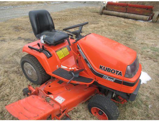 Kubota GR1800 diesel lawn mower
