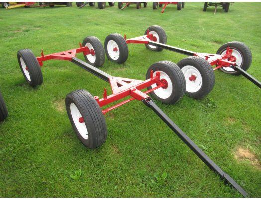 Plotmaster wagon running gear