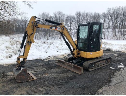 CAT 304E CR mini excavator
