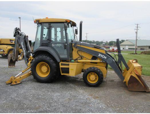 2012 John Deere 310K backhoe loader