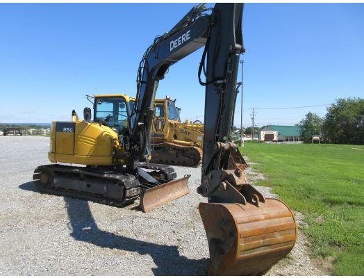 2018 John Deere 85G excavator