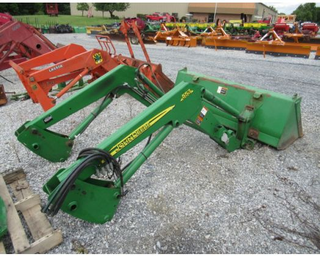 John Deere 553 loader / JD 5075E