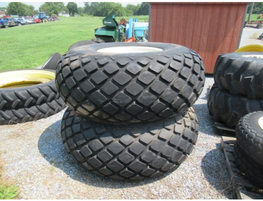 Grain cart tires 23.1-26 on rims