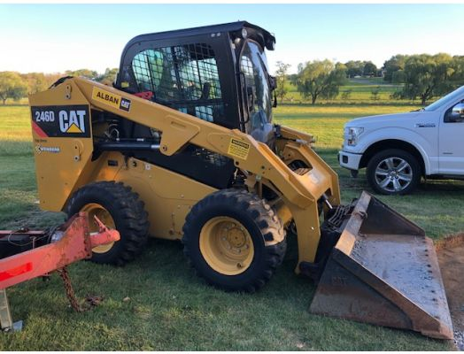 Caterpiller 246D skid loader