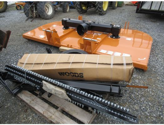 Woods 10' rotary cutter DS10.40