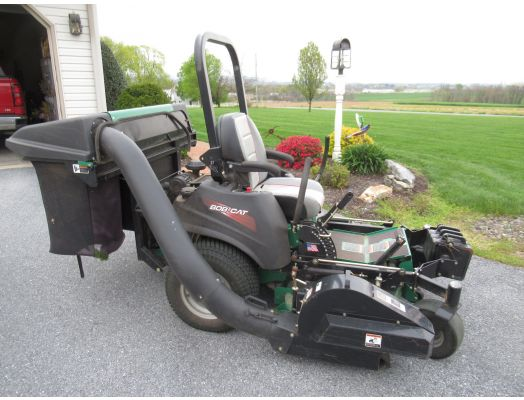 "Bobcat Pro Cat 52"" zero turn mower"