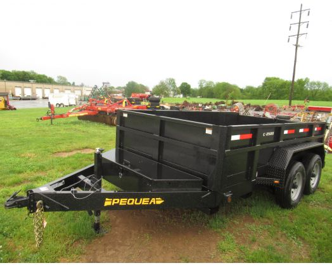 Pequea 12' C2500 dump trailer 10K