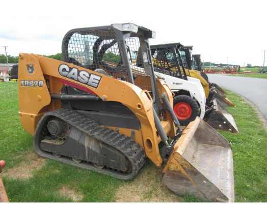 Case TR270 skid loader