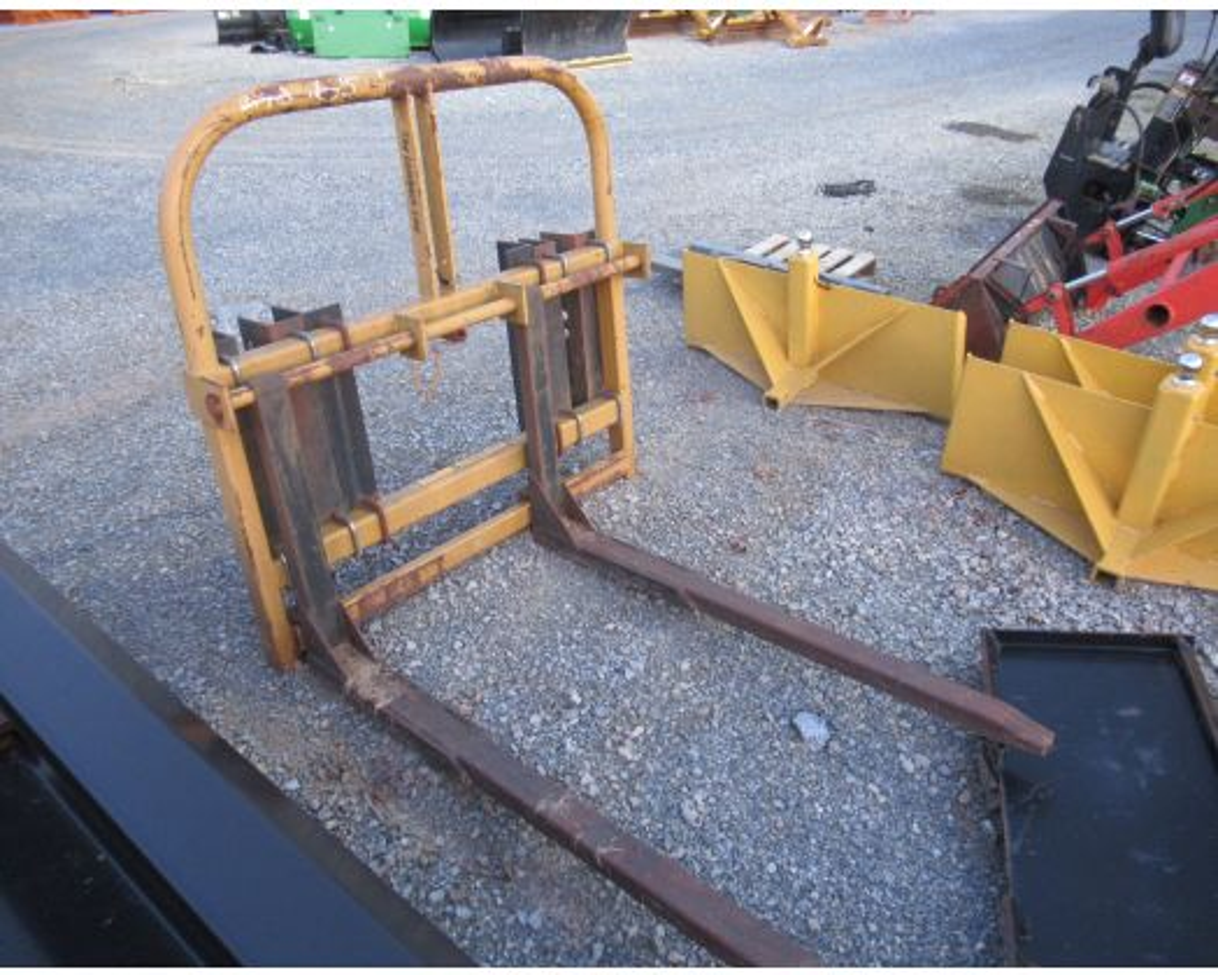 Leinbach 3pt or loader mount forks