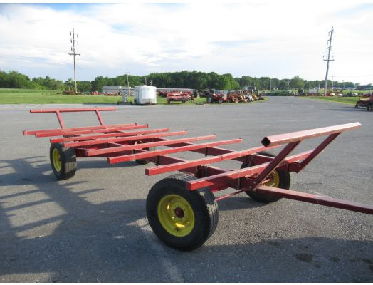 Farmco bale carrier wagon