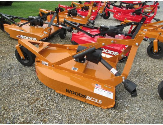 """Woods 42"""" 3pt rotary cutter RC3.5"""