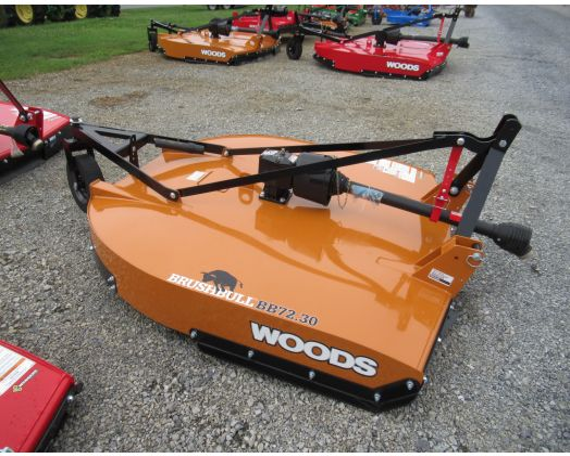 Woods 6' 3pt cutter BB72.30