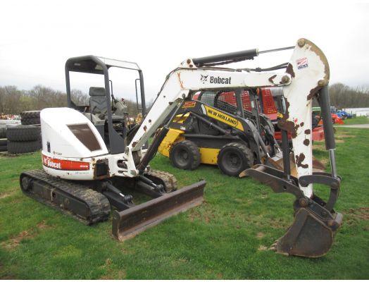 Bobcat 430 ZHS mini excavator