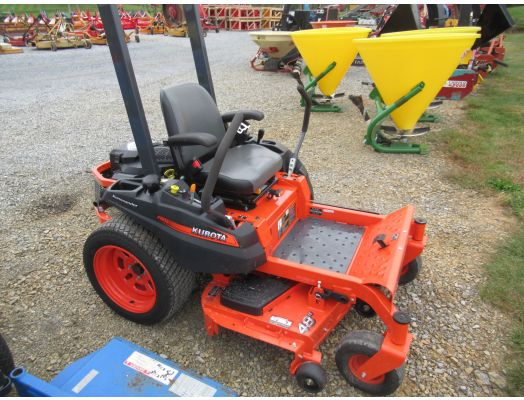 "Kubota Z121 48"" zero turn mower"