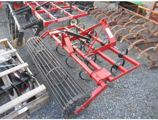 Zook 6' 3pt harrow with rolling basket