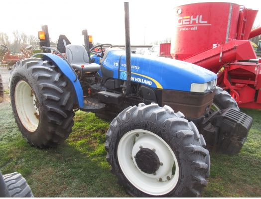 New Holland Workmaster 75 4x4 rops