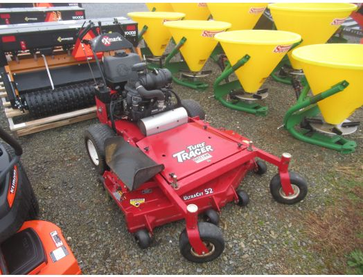 Exmark Turf Tracer Ultra Cut 52 stand on mower