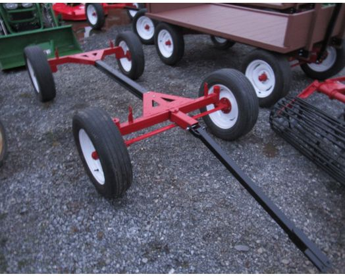Zook 3 ton wagon gear