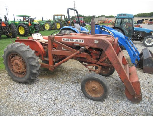 Allis Chalmers D12 series II with loader