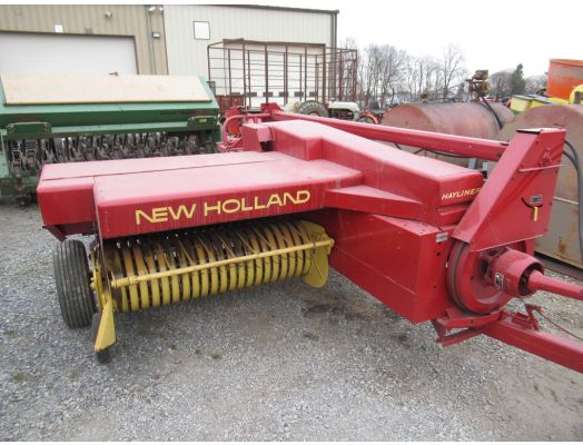 New Holland 310 baler with thrower