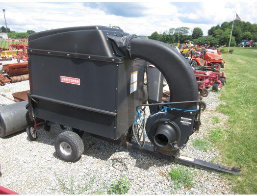 Craftsman lawn vac trailer