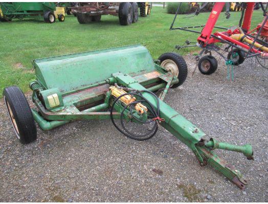 John Deere hay crimper