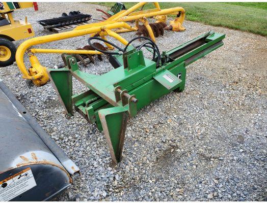 John Deere 3pt hydraulic post pounder