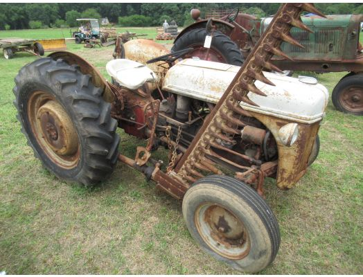 Ford 9N tractor step & step down