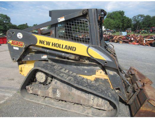 New Holland C185 track loader
