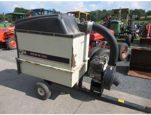 Agri Fab HD1000 grass vac trailer