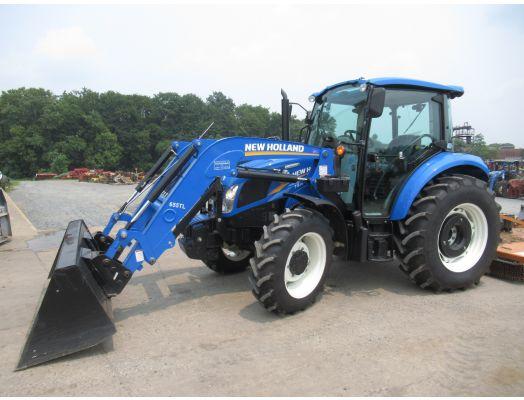 New Holland T4.75 loader