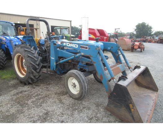 New Holland 4630 with loader