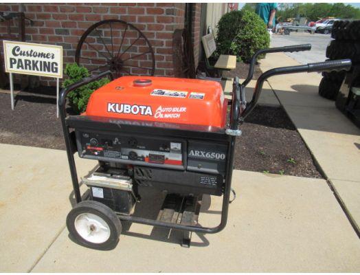 Kubota ARX6500 gas generator
