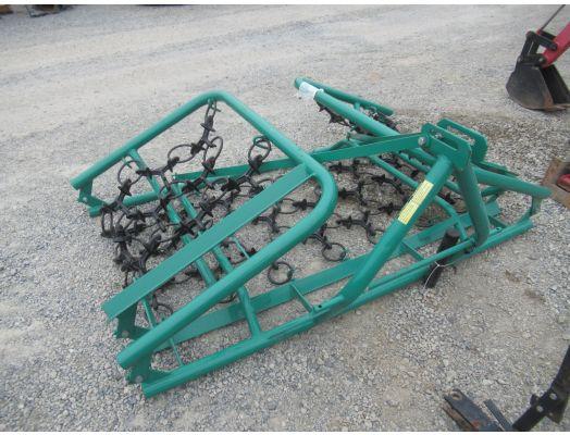Green 11' 3pt chain harrow