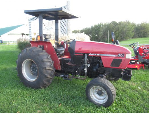 Case C60 tractor