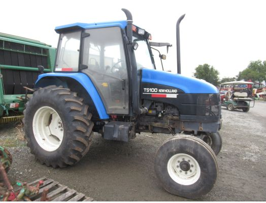New Holland TS100 2wd cab tractor