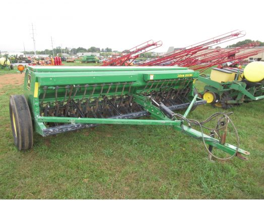 John Deere 450 21x grain drill