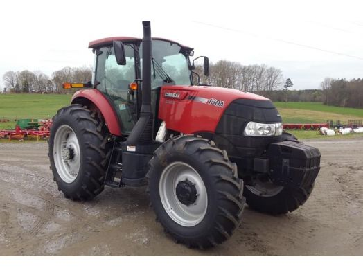 Case 130A MFWD cab tractor