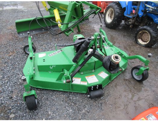 Frontier 6' 3pt finish mower GM1072