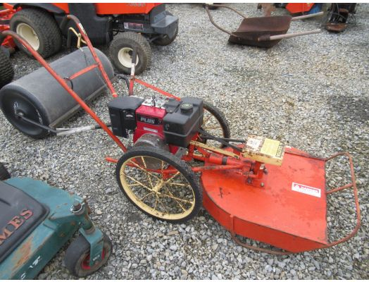 DR 5hp walk behind mower