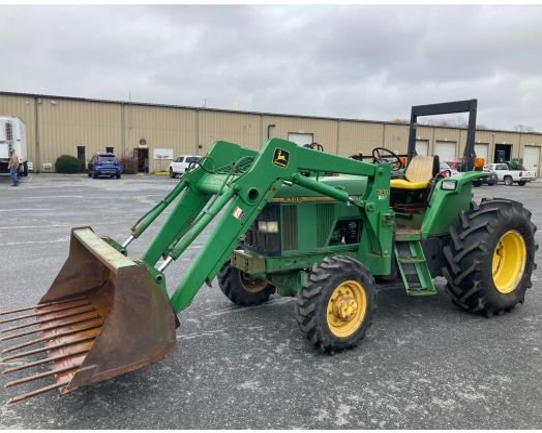 John Deere 6300 4x4 loader