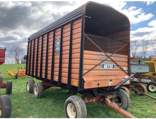 Meyer forage wagon