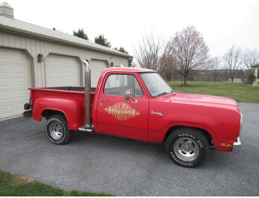 """1979 Dodge """"Lil Red Express Truck"""""""