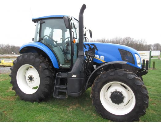 New Holland TS6.130 MFWD tractor