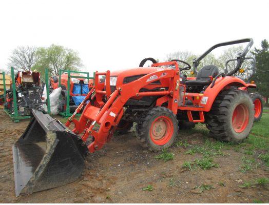 Kioti CK30 4x4 loader