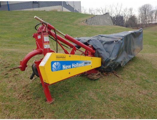 """New Holland 78"""" 3pt disc mower H6730"""