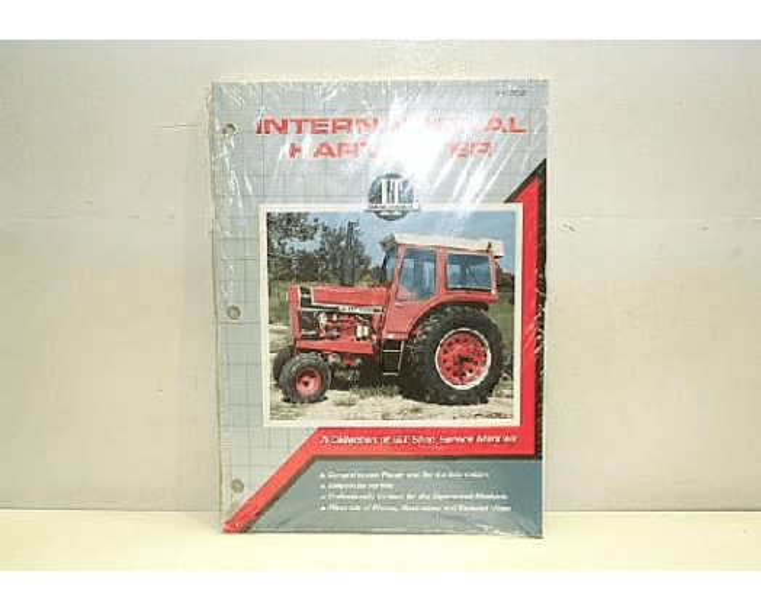 IT Shop Farmall 1566 Tractor Service Manual