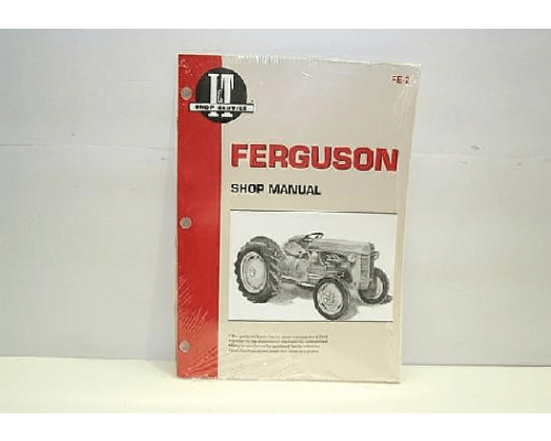 Ferguson I & T Shop Service Manual