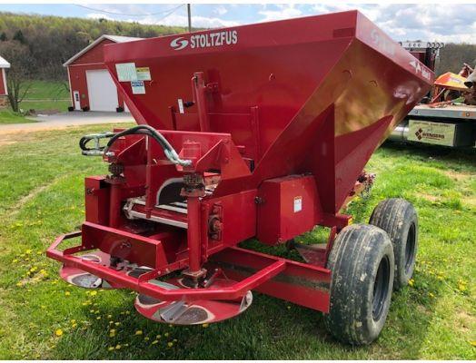 Stoltzfus Red Hawk fertilizer spreader